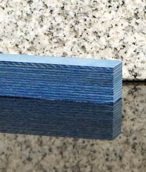 Blue Frogwood® Pen Blank UK Pen Blanks