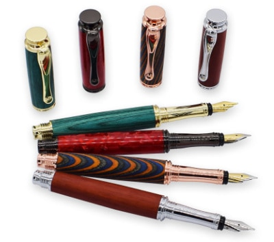 Aston rollerball pen kits fountain rollerball pen turning kits