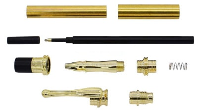 Aston Fountain Pen Kit UK Pen Blanks